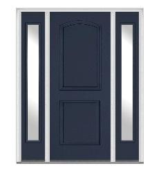 玄関ドアサイドライト1